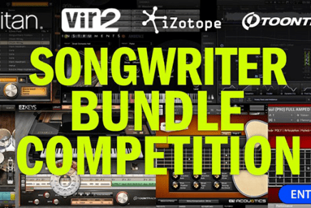 Time+Space announce the Ultimate Songwriter Bundle competition