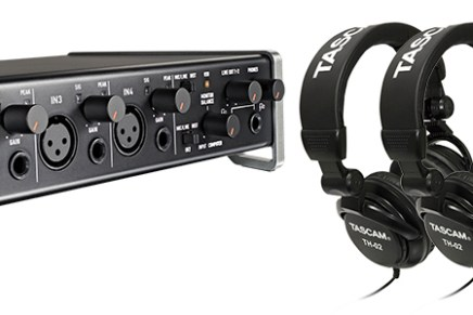 Tascam announces Trackpack 4×4