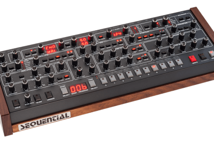 Dave Smith Unveils Sequential Prophet-6 Desktop Synth Module