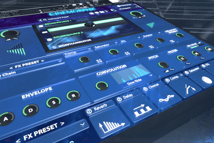 Sample Logic launches virtual instrument Cinemorphx