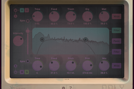 iZotope release DDLY Dynamic Delay plugin and it's free for 30 days!