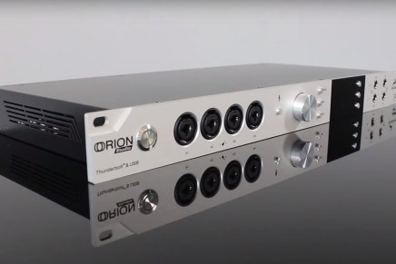 Antelope Audio Announces Launch of New Guitar Effects for Orion Studio