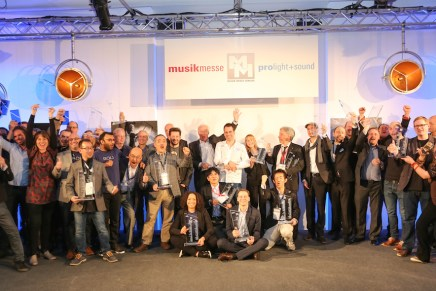 Winners of the 17th mipa Musikmesse international press award 2016