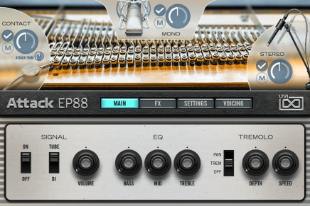 UVI announces Attack EP88 electric piano library