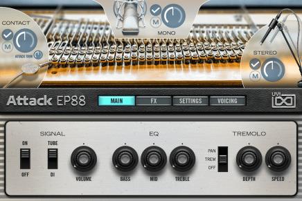 UVI announces Attack EP88 electric piano library
