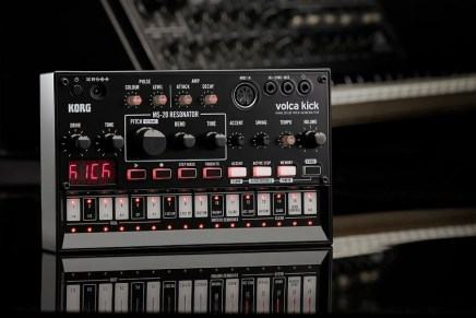 Korg announces new Volca Kick