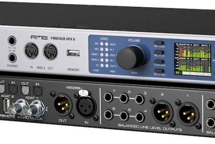 RME announces Fireface UFX II audio interface