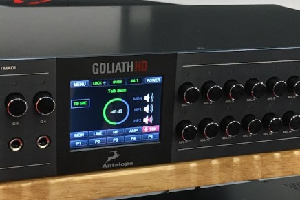 Antelope announces its new flagship interface Goliath HD