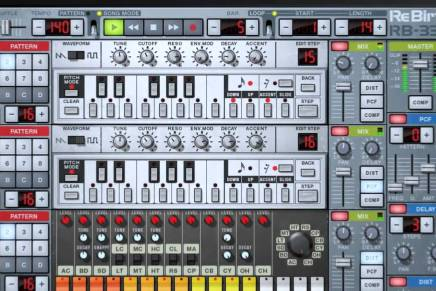 Propellerhead ReBirth for iPad will be removed from App Store June 15, 2017