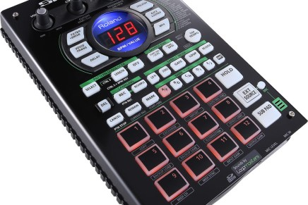 Roland introduces the SP-404A Linear Wave Sampler