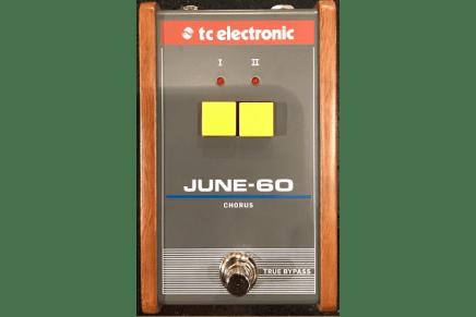 TC Electronic shows June-60 Chorus pedal