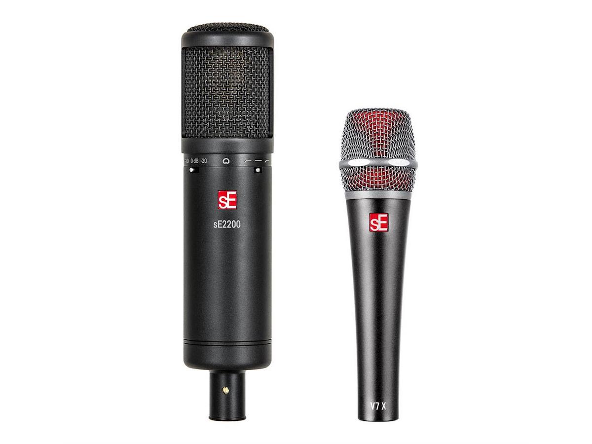se electronics announces updated se2200 condenser and new v7 x dynamic instrument microphone. Black Bedroom Furniture Sets. Home Design Ideas