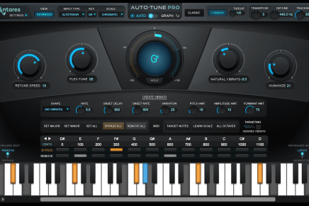 Antares Audio Technologies introduces Auto-Tune Pro software plug-in