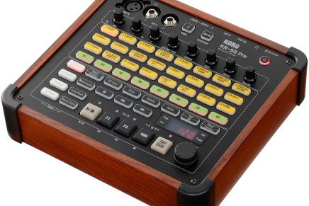 Korg announces the KR-55 Pro multi-function rhythm machine