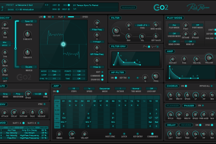 Rob Papen announces release of Go2 virtual synthesizer plug-in