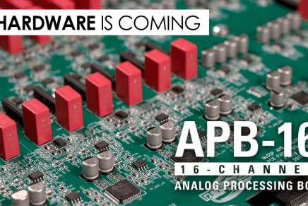 McDSP announces APB-16 analog processing Box