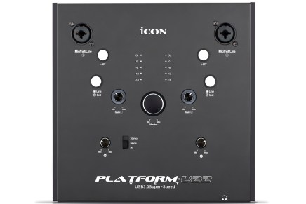 iCON Pro Audio announces Platform U22 VST audio interface