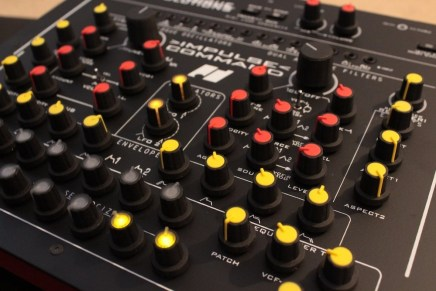 The new Analogue Solutions Impulse Command analogue synthesizer at Superbooth19