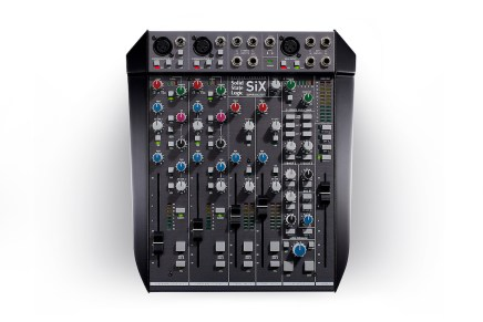 solid state logic announces six desktop mixer. Black Bedroom Furniture Sets. Home Design Ideas