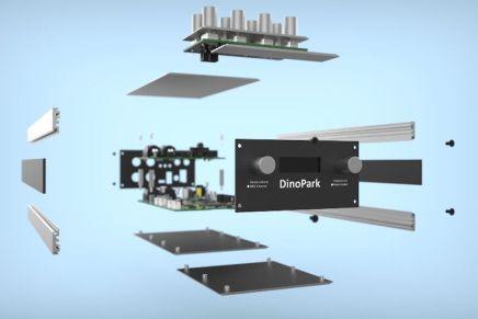 MakeProAudio announces Dino Park Modelling Synthesizer DIY MakeKit