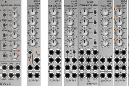 Doepfer will show these new Eurorack modular modules at Superbooth19