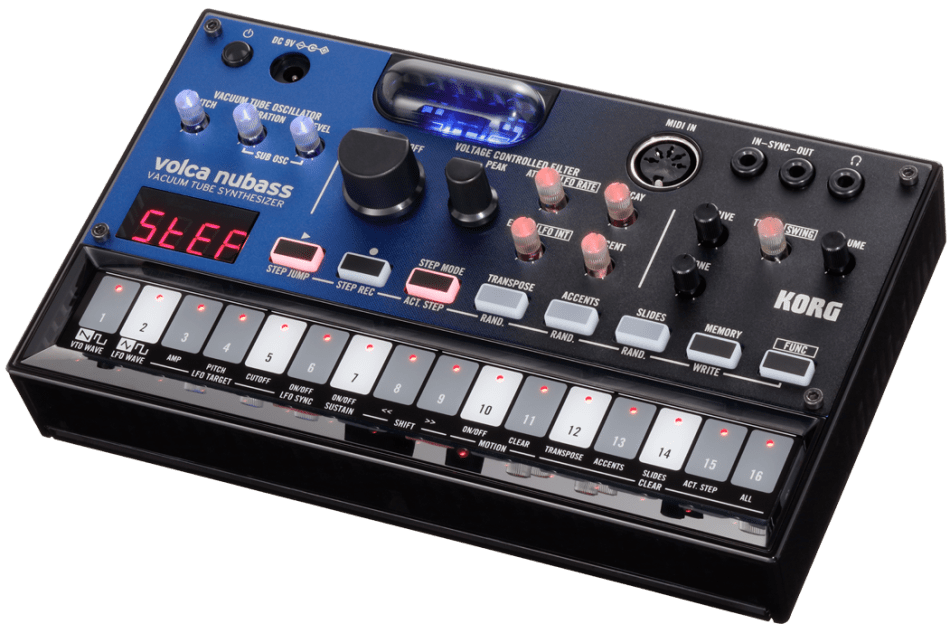Korg announces the Volca nubass vacuum tube analog bass synthesizer