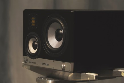 EVE audio announces the compact 3-way SC3070 studio monitor