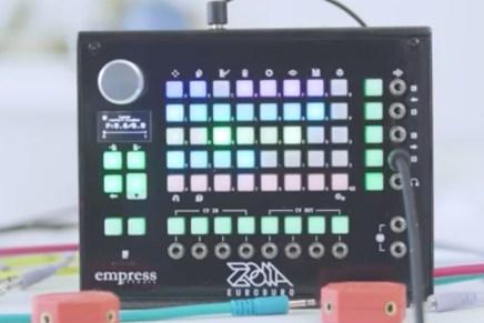 Empress Effects announces ZOIA Euroburo modular synthesizer for Eurorack