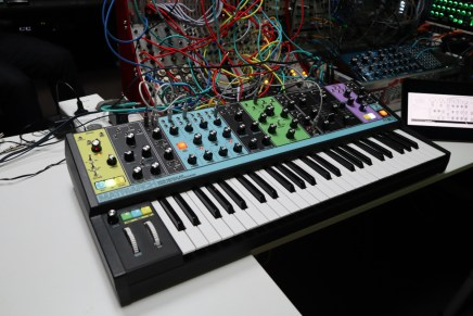 Gearjunkies video – Moog Matriarch synthesizer patches and sounds