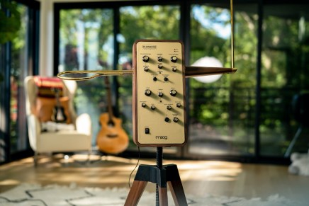 Moog Introduces Claravox Centennial Theremin
