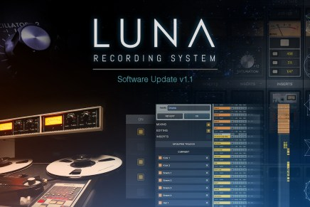 Universal Audio Releases LUNA Recording System v1.1