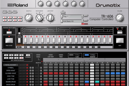 Gearjunkies video – TR-606 Software Rhythm Composer for Roland Cloud