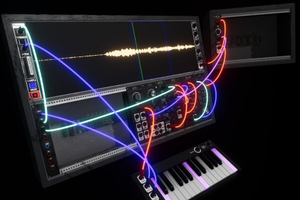 Bright light interstellar develops modular synthesizer for virtual reality – Synthspace