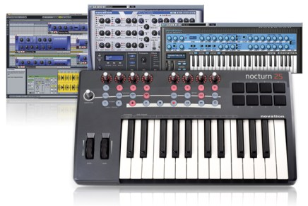 Novation announce Nocturn 25 & 49 software giveaway
