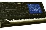 Korg MS-20 with iPad docking station