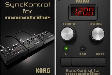 KORG SyncKontrol App for monotribe