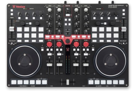Vestax VCI-400 DJ Controller Introduced