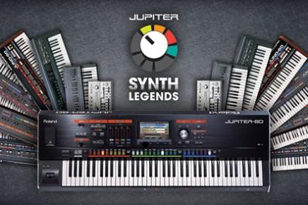 Roland unveils JUPITER Synth Legends Volume 1