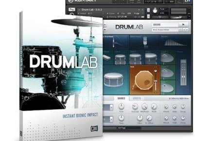 Native Instruments Drum Lab Instrument released