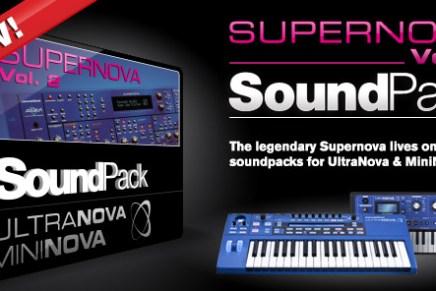Download Novation Supernova Soundpack Volume 2 for free