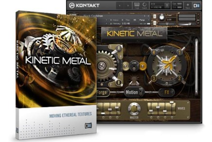Ethereal metal sounds with NI Kinetic Metal Kontakt Instrument