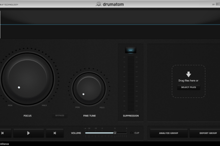 Plugin Alliance introduce Drumaton – Drum Crosstalk Removal Tool