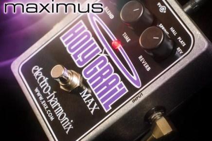Electro-Harmonix Holy Grail Max Reverb demonstration video