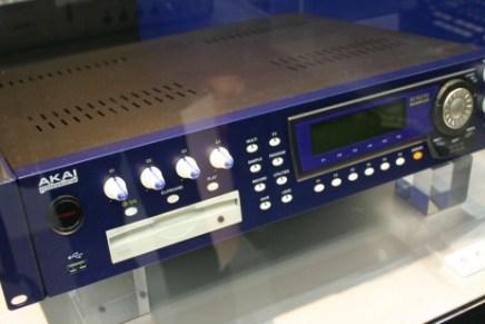 New hardware sampler from Akai: Akai Boreas