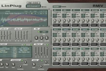LinPlug announces the RM IV 4.1 with 2700 MIDI beats