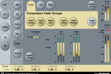 Mastering tools from System 6000 now for Powercore