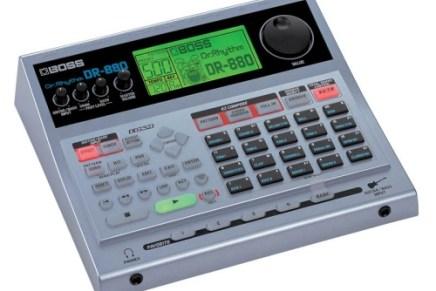 Boss ships the DR-880 drummachine
