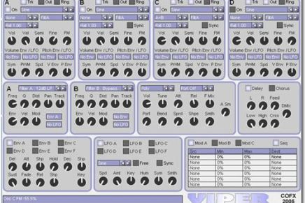 ConcreteFX release new FM/additive softsynth Viper