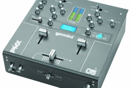 Gemini announces the PMX-05, a 2 Channel FX Mixer