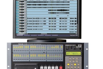 Tascam announces the X-48 digital multitrack system